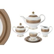Чайный сервиз 23 предмета на 6 персон Золотой