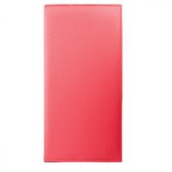 Папка для счетов, кожезам., L=22.2,B=12см, красный
