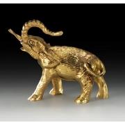 Слон мини цвет - золото 9х8 см