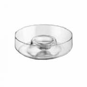 Блюдо фуршетное, стекло, D=295,H=75мм, прозр.