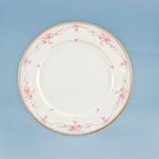 Набор 6 тарелок 21 см. «Розанна розовая»