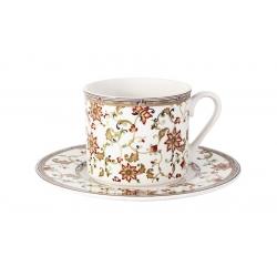Чашка с блюдцем Кардинал