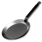 Сковорода для блинов; сталь; D=20см; черный