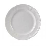 Блюдо «Торино вайт», фарфор, D=32см, белый