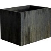 Ящик для подачи «Мороз» темный дуб H=20, L=27, B=20см