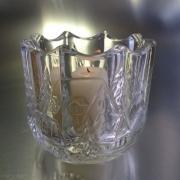 Подсвечник со свечой «Зимняя Сказка»