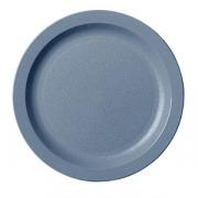 Тарелка, поликарбонат, D=22.9см, серый