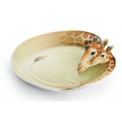 Маленькое блюдо «Жираф» 16,5 х16 см