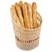 Корзина для хлеба; полиротанг; H=65,L=264,B=162мм