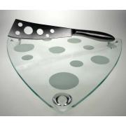 Набор для сыра 2 пр доска треугольная нож