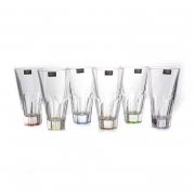 Набор стаканов 480 мл. 6 шт. «Аполло Ассорти»