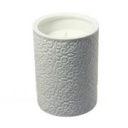Свеча ароматическая в керамическом подсвечнике, 10,5 см, Osmahnus amber water