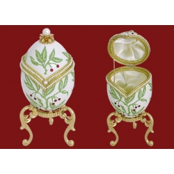Декоративная шкатулка «Листья»