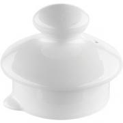 Крышка для чайника 0179,0180 «Симплисити Вайт» фарфор; белый