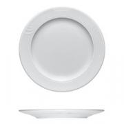 Тарелка мелкая «Карат», фарфор, D=23,H=2см, белый