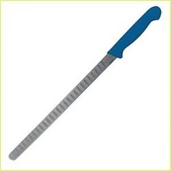 Нож рыбный L=31см синяя ручка