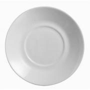 Блюдце «Эвридэй», стекло, D=16см, белый