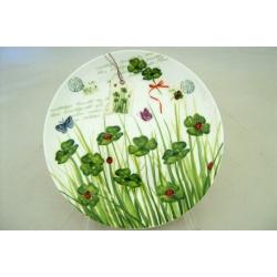 Десертная тарелка «Клевер» 19 см