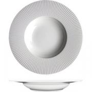 Тарелка глубокая «Уиллоу» D=24см; белый
