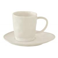 Чашка с блюдцем (белый) Interiors без индивидуальной упаковки