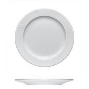 Тарелка мелкая «Карат», фарфор, D=160,H=15мм, белый