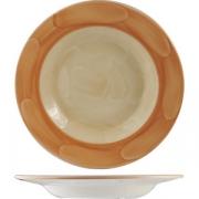 Тарелка глуб «Паприка» 21.5см фарфор