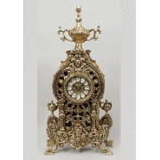 Часы со львами 50х24см.