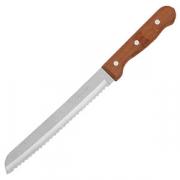 Нож для хлеба, сталь,дерево, L=32/19см, металлич.,коричнев.