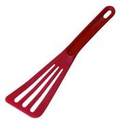 Лопатка кухон. перфорир. «Экзогласс», L=30см, красный