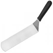 Лопатка изогнут. для гриля «Проотель», сталь,пластик, L=400/250,B=75мм, металлич.,черный