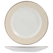 Тарелка «Чино» 27см фарфор