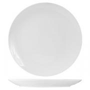 Блюдо круглое б/борта «Кунстверк», фарфор, D=32.4см, белый
