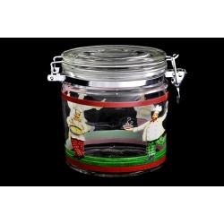 Банка для сыпучих продуктов «Французский повар» 0,65 л/ 13 см