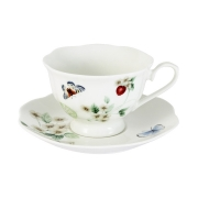 Чашка с блюдцем Ягодная поляна