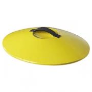 Крышка для утятницы арт.642597; керамика; желт.