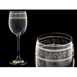Бокал для вина Эсприт, Орнамент серебряный