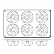 Форма для кондит.изд «Цветок» d=7см силикон