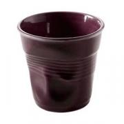 Стаканчик для эспрессо «Фруассэ», фарфор, 80мл, D=65,H=60мм, фиолет.