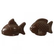 Форма для шоколада «Две рыбы», поликарбонат, L=17.6,B=10.5см