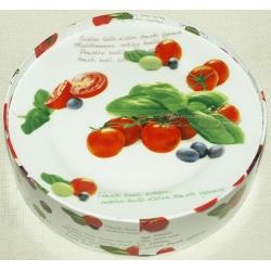 Набор из 4-х тарелок «Помидоры» 19 см