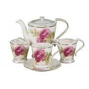 Сервиз чайный 17пр. на 6 персон «Розовый сад»