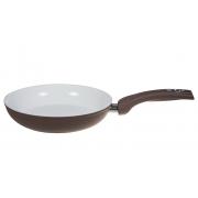Сковорода 24 см «Коричневая керамика» V - 2,2 л.