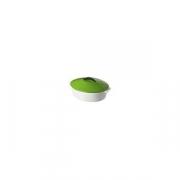 Утятница с крышкой H=16, L=32.5, B=26.5см; зелен.