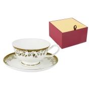 Чашка с блюдцем Золотой луг
