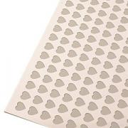 Трафарет для бисквита «Сердце», пластик, L=60,B=40см