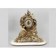 Часы «Ромео и Джульетта» золотистый 43х45 см.