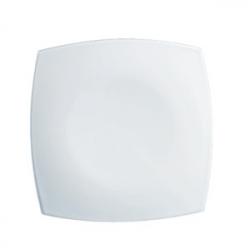 Тарелка мелк. «Квадрато» белая 19*19см
