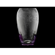 Ваза 23 см«Европейский декор с фиолетовой подсветкой»