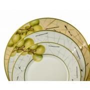 Набор тарелок «Семильон» на 6 персон 18 предметов
