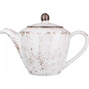 Чайник «Крафт» фарфор; 850мл; белый